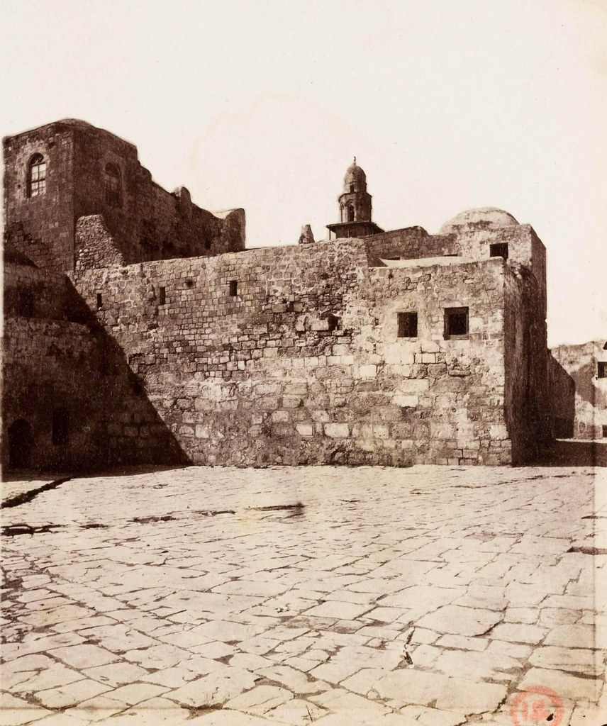32. Иерусалим. Виа Долороса. Интерьер турецких казарм