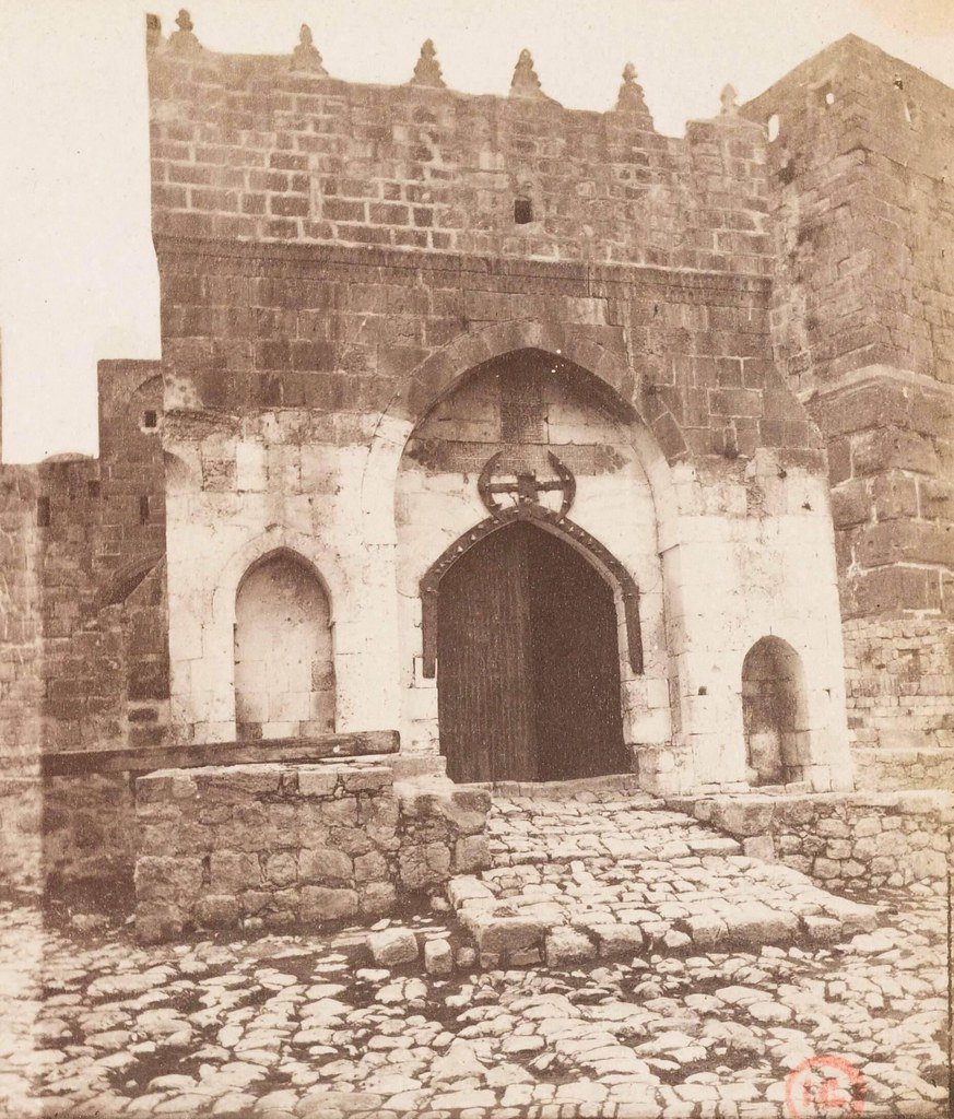 31. Иерусалим. Виа Долороза. Ворота Цитадели