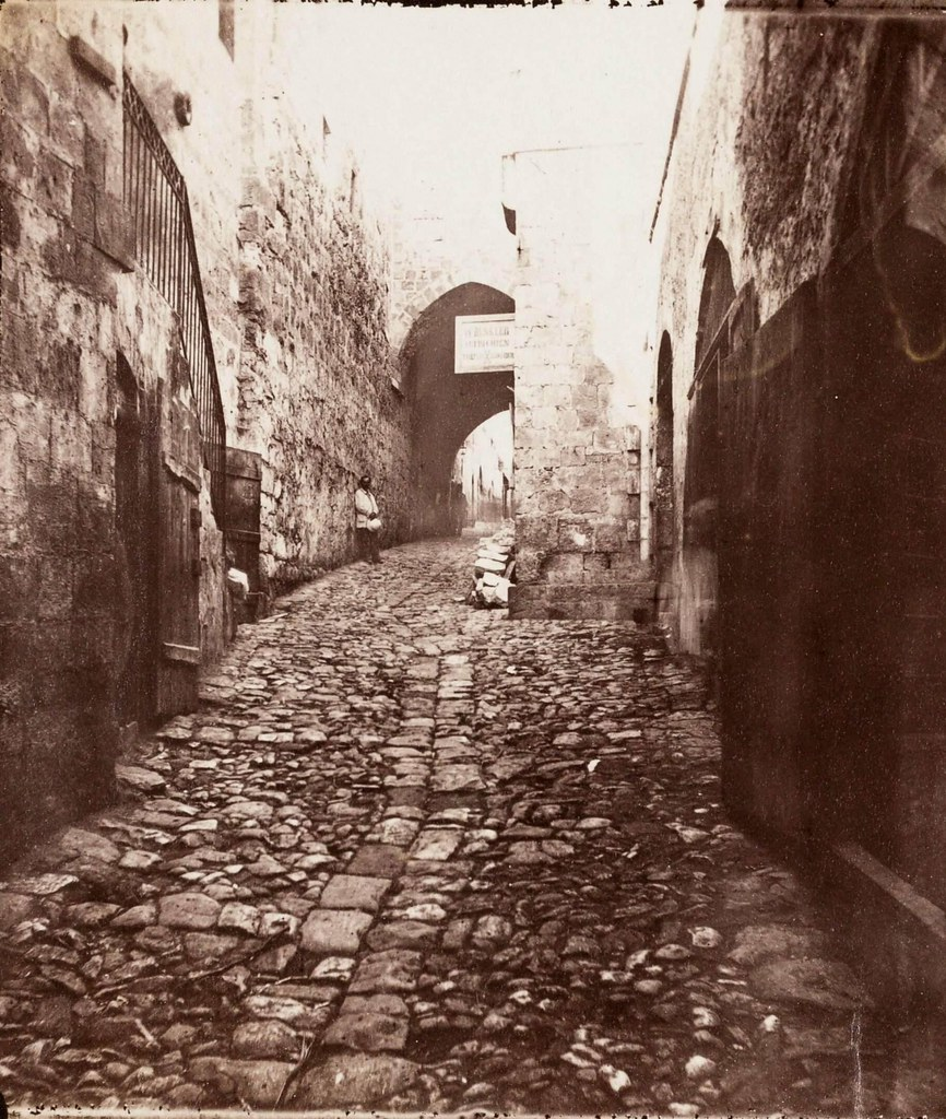 25. Иерусалим. Виа Долороза. Между 7 по 8 остановками