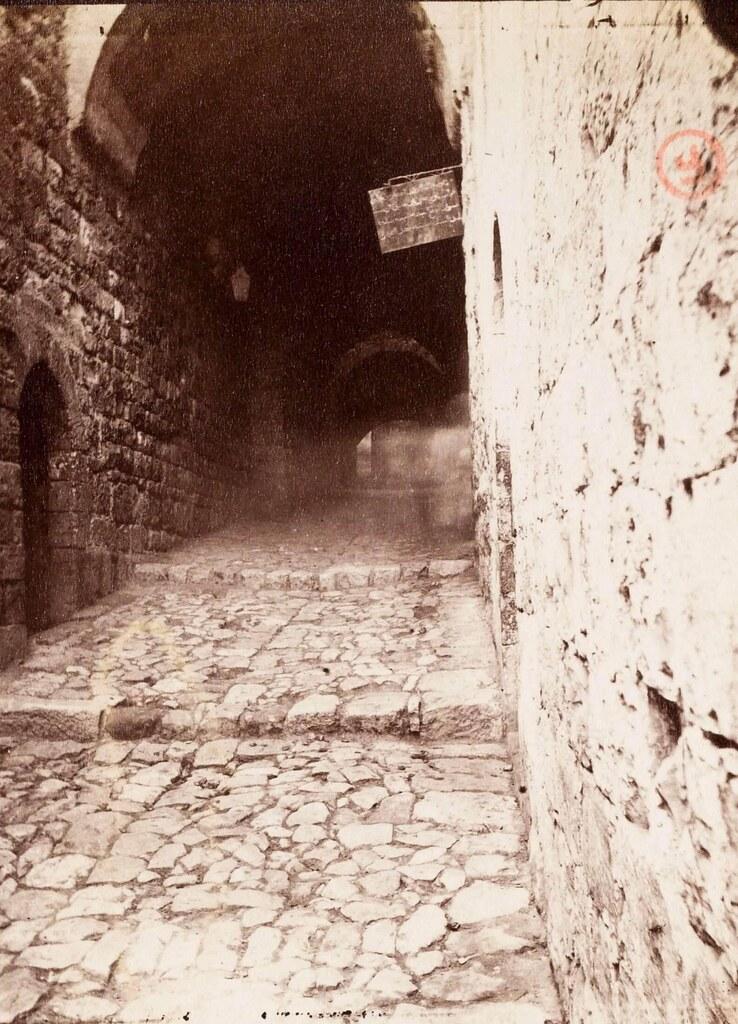 24. Иерусалим. Виа Долороза. Между 6-й по 7 остановками