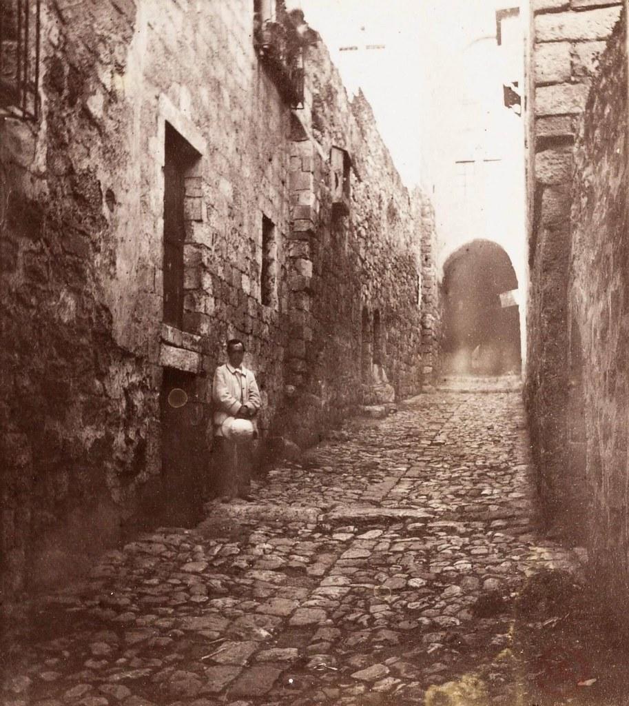 23. Иерусалим. Виа Долороза. 6 остановка. Место, где святая Вероника вытерла лицо Христа своим шёлковым покрывалом