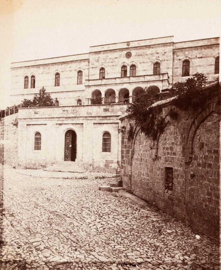 18. Иерусалим. Виа Долороза. Австрийский хоспис и 3-я остановка. Место первого падения Христа