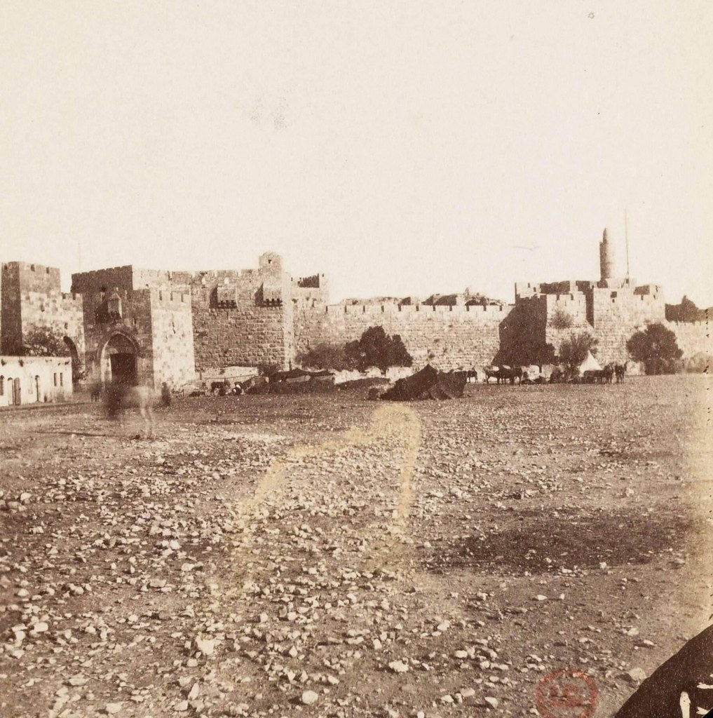 10. Иерусалим. Яффские ворота