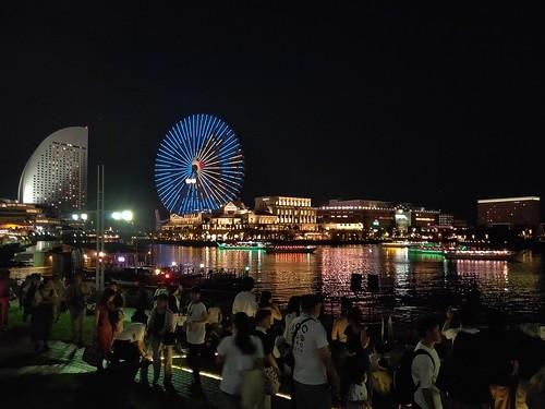 作例(夜景) 横浜市みなとみらい地区