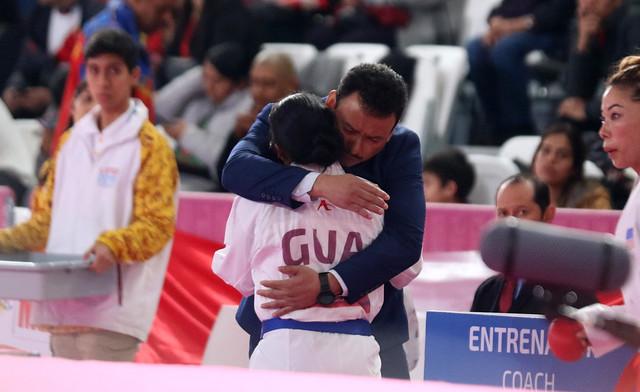 Medalla de bronce, Cheili Gonzalez, Lima 2019