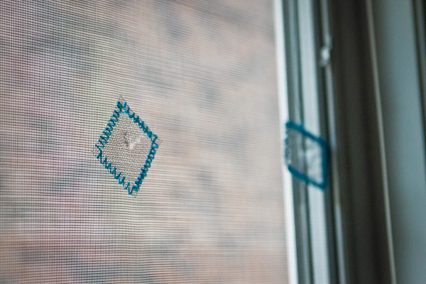 Window Screen Repair Idea