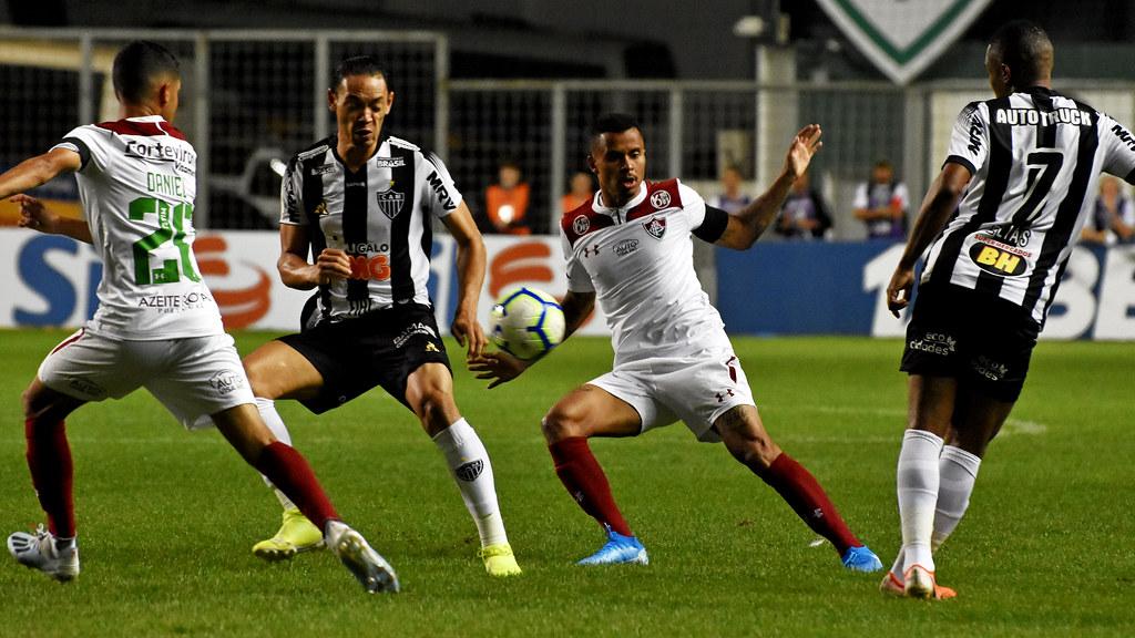 Fluminense X Atletico Mg 10 08 2019 Belo Horizonte Mg B Flickr