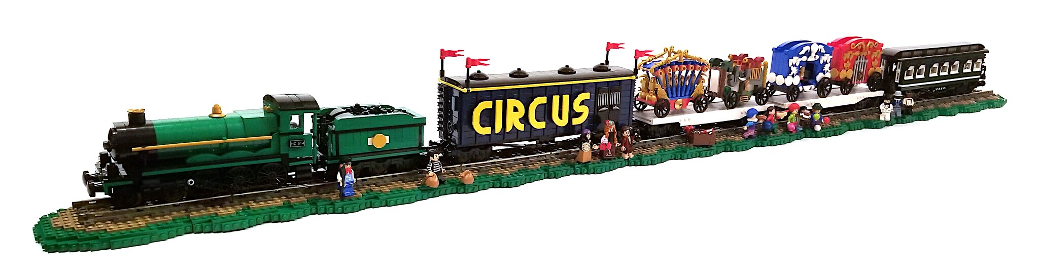 Porter Brothers Circus Train