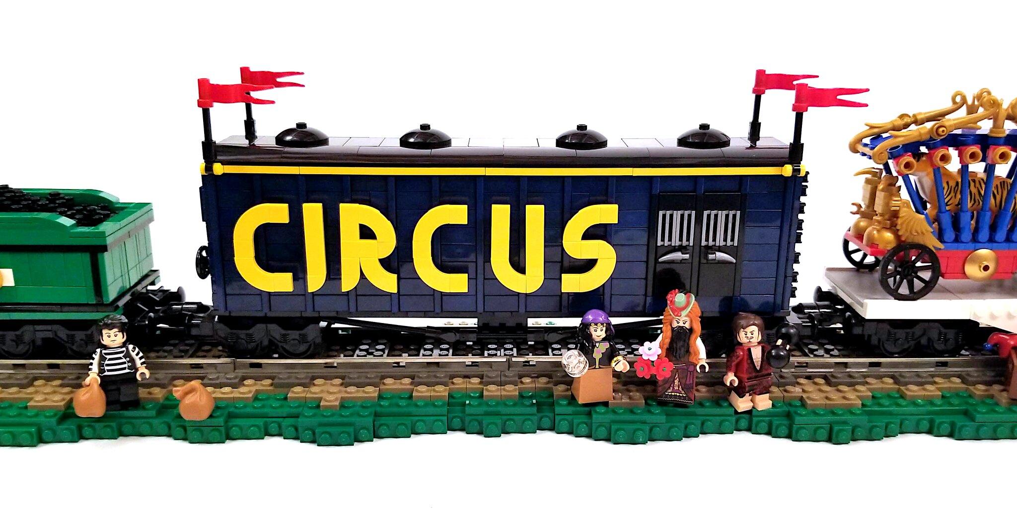 Porter Brothers Circus Train