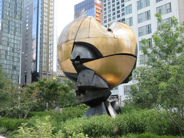 The Sphere Sculpture World Trade Center NYC 7506