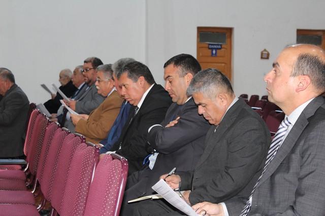 Reunión de pastores en San Bernardo en miras de los 110 años de Pentecostalismo