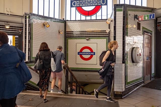Going Underground: Balham Tube Station London