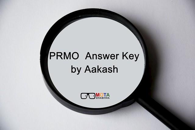 prmo answer key by aakash