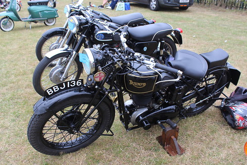 Triumph 1935 550cc BBJ 136