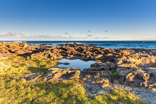 Wild and Windy Rugged Seascape