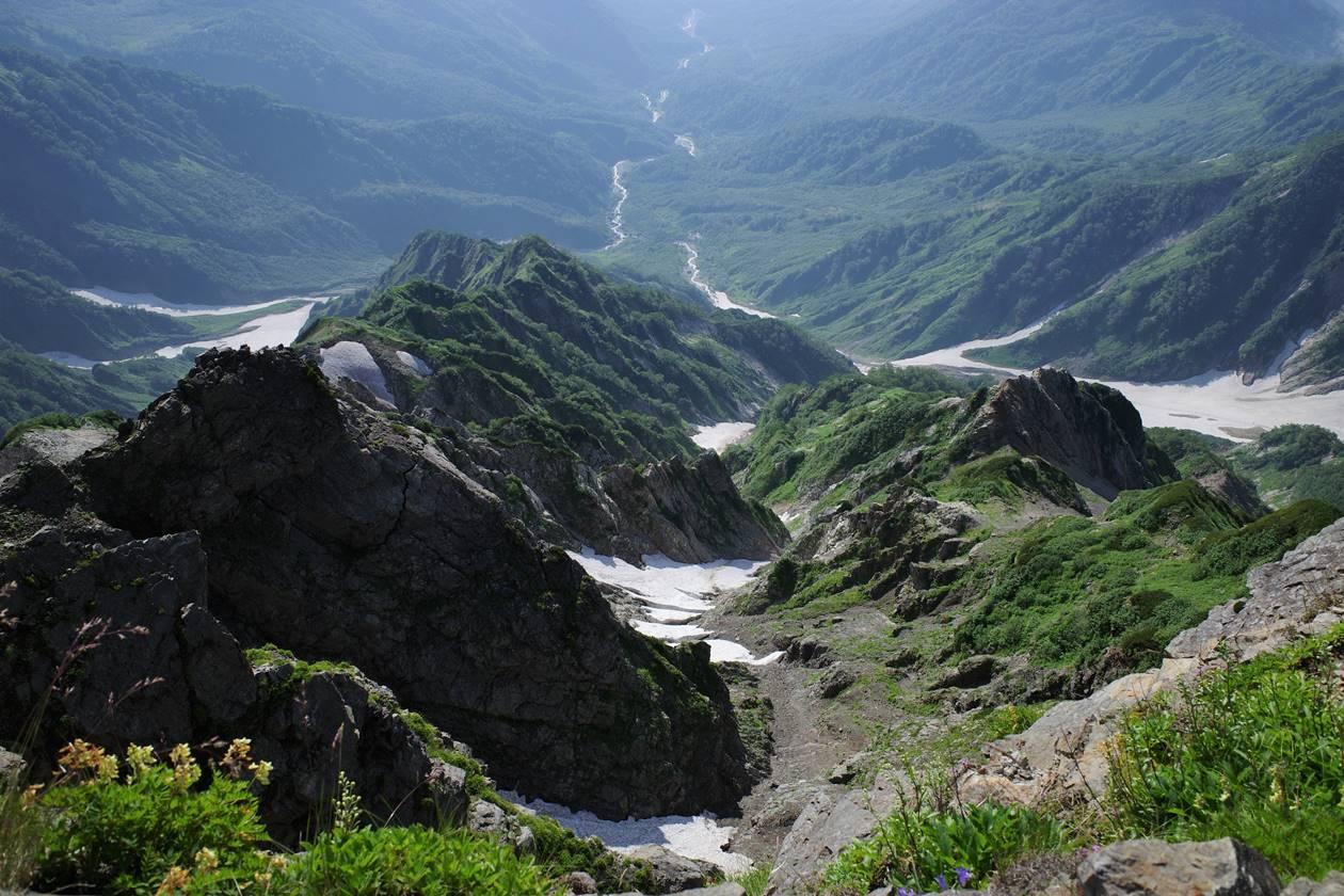 白馬岳主稜