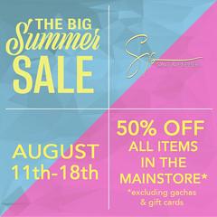 The Big Summer Sale at Salt & Pepper