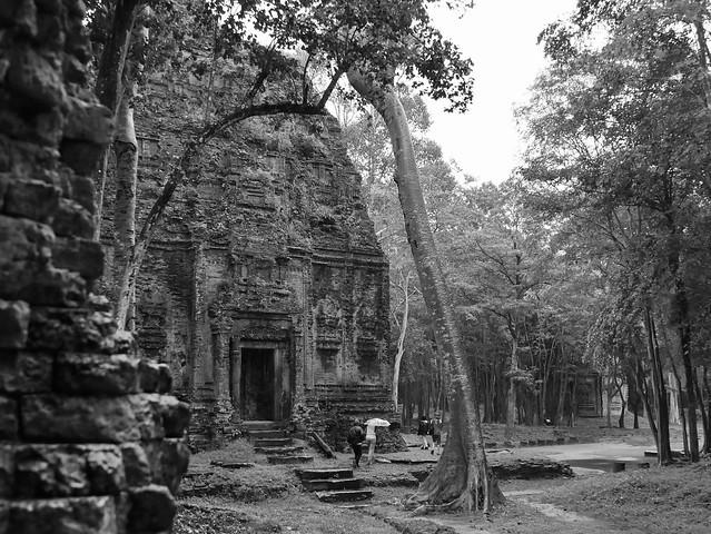 Temples de Sombor Prey Kuk, Kompong Thom, Cambodge, août 2019. Sombor Prey Kuk temples, Kompong Thom, Cambodia, August 2019. https://fr.m.wikipedia.org/wiki/Sambor_Prei_Kukhttps://en.m.wikipedia.org/wiki/Sambor_Prei_Kuk