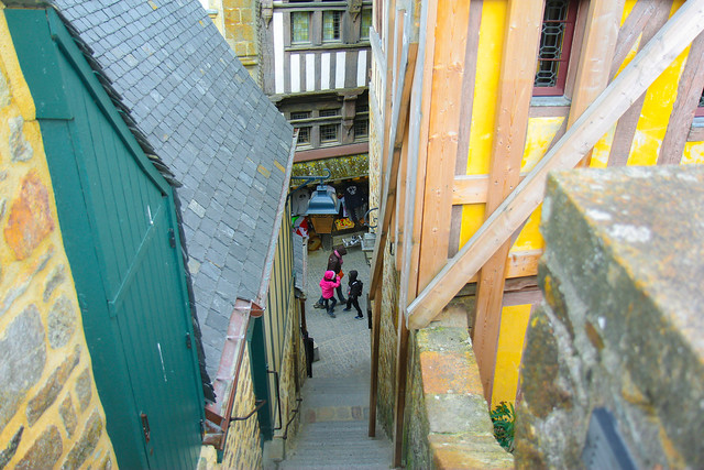 Alleys and stairs