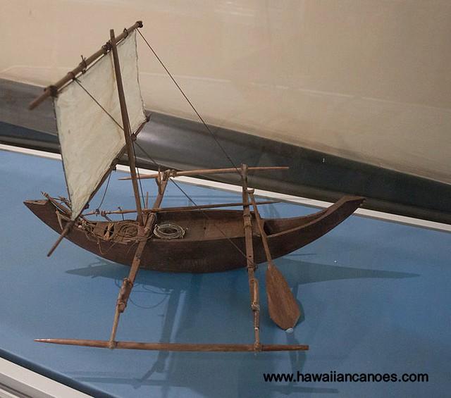 Sri-Lanka model canoe