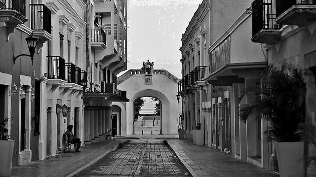 MEXICO, frühmorgens in Campeche ,  19186/11852