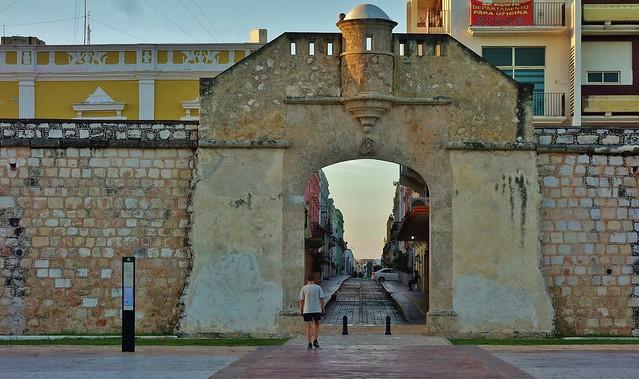 MEXICO,  morgens in Campeche, Baluarte de San Carlos,  19187/11853