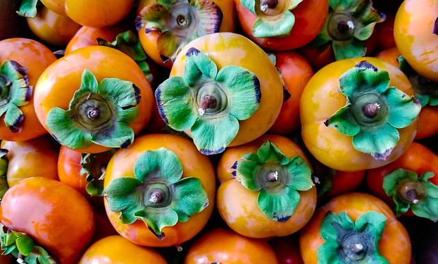 Organic Fuyu Persimmons #2