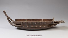 Marquesan canoe model