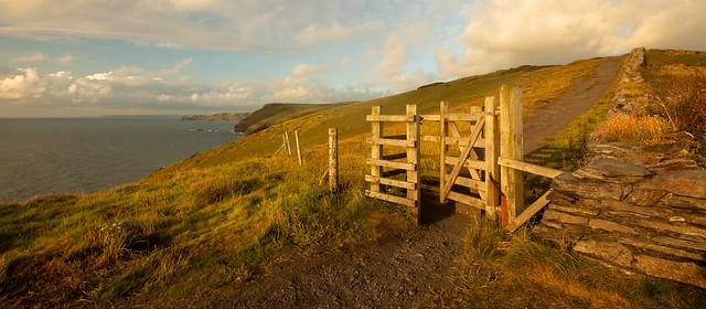 Coastal Path at Boscastle, Cornwall