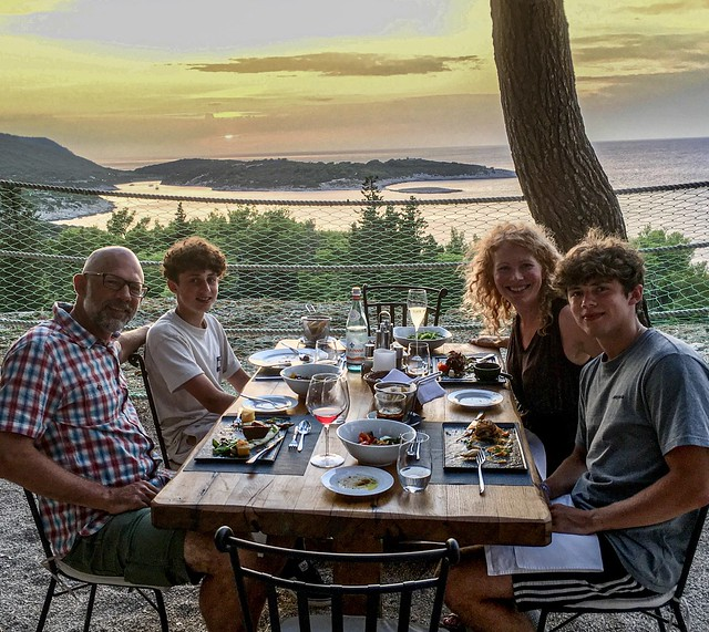 Dinner at Fort George