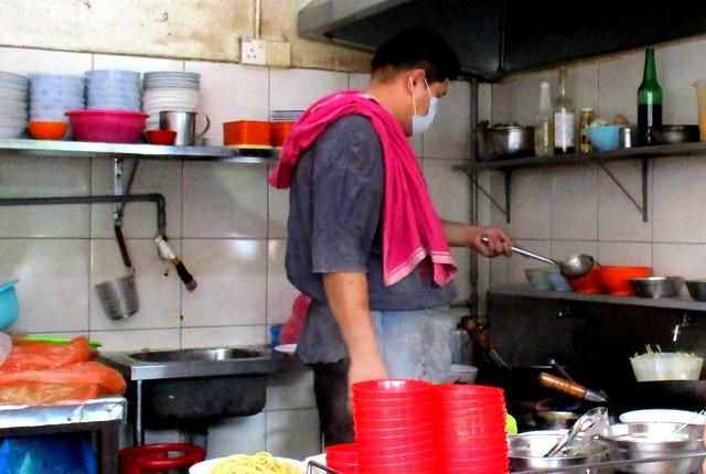 Yalin chu char stall