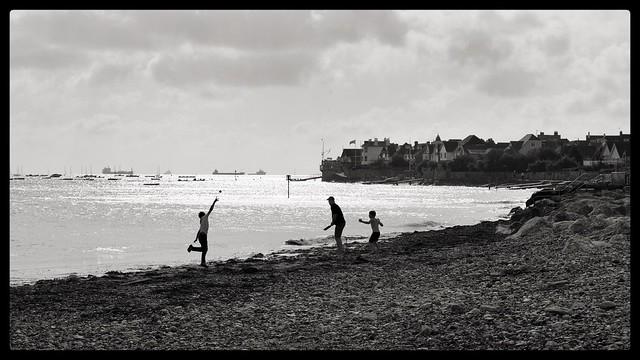 Beach cricket......
