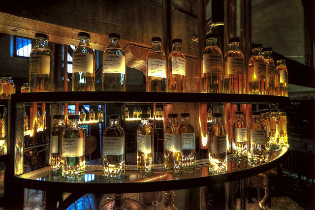 Tullamore IR - Tullamore Dew Heritage Center cask samples