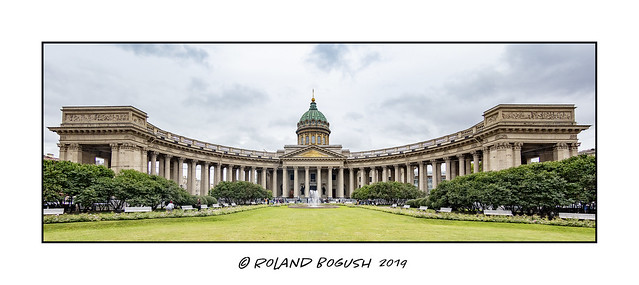 Kazan Cathedral on Nevsky Prospekt - St Petersburg