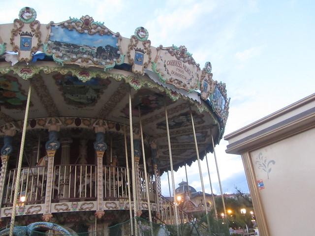 Carrousel  Palace, 1900, Alderdi-Eder  Park, San Sebastian, Donostia,  Guipuzcoa,  Basque Country, Spain