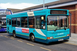 Arriva North East: 1767 / NK05 GWF