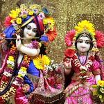 ISKCON Punjabi Bagh Deity Darshan 11 Aug 2019