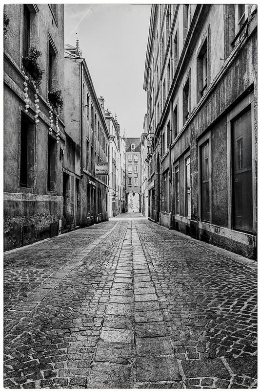 Tapis de pavés pour une ancienne ruelle Messine