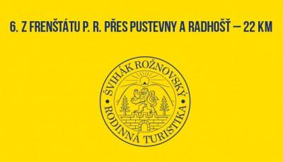 6. Z Frenštátu p. R. přes Pustevny a Radhošť – 21 km