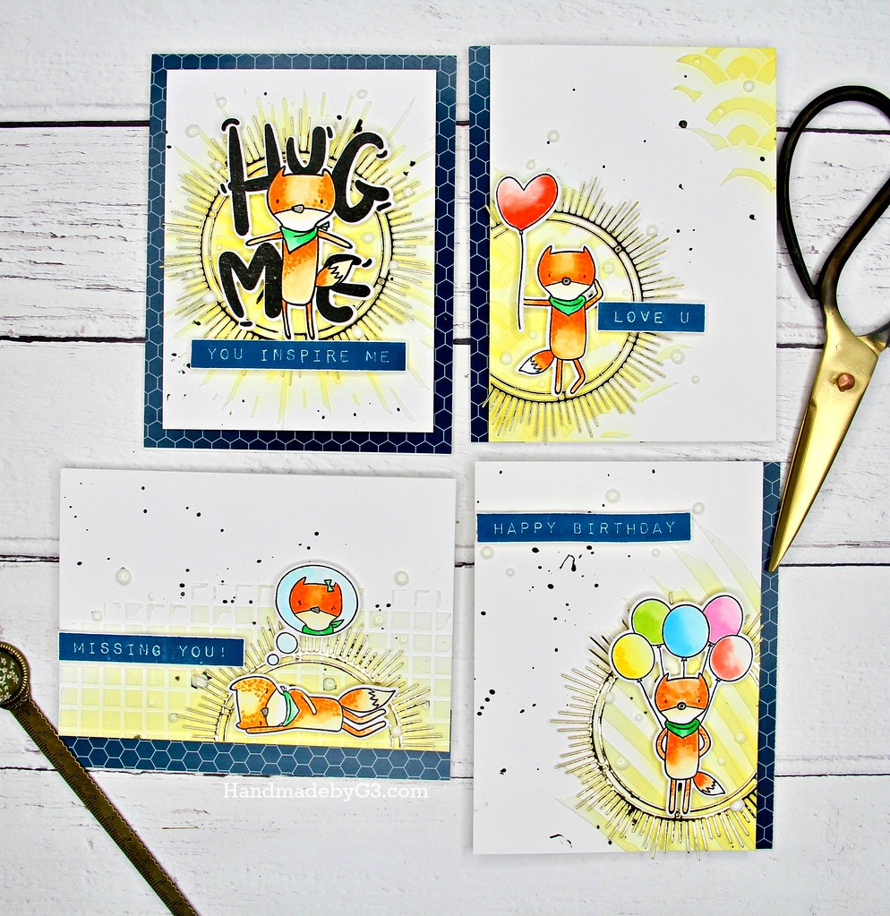 Altenew masculine card set#1