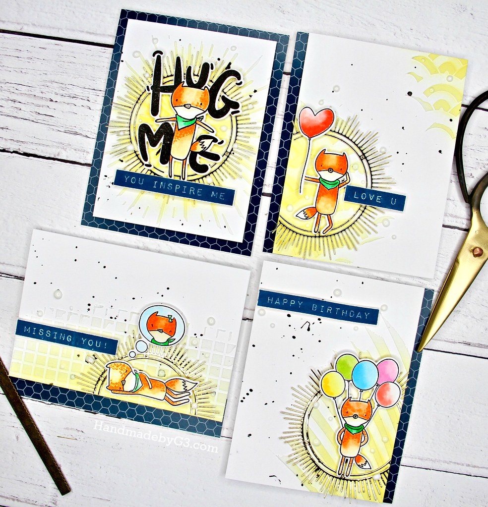 Altenew masculine card set closeup1