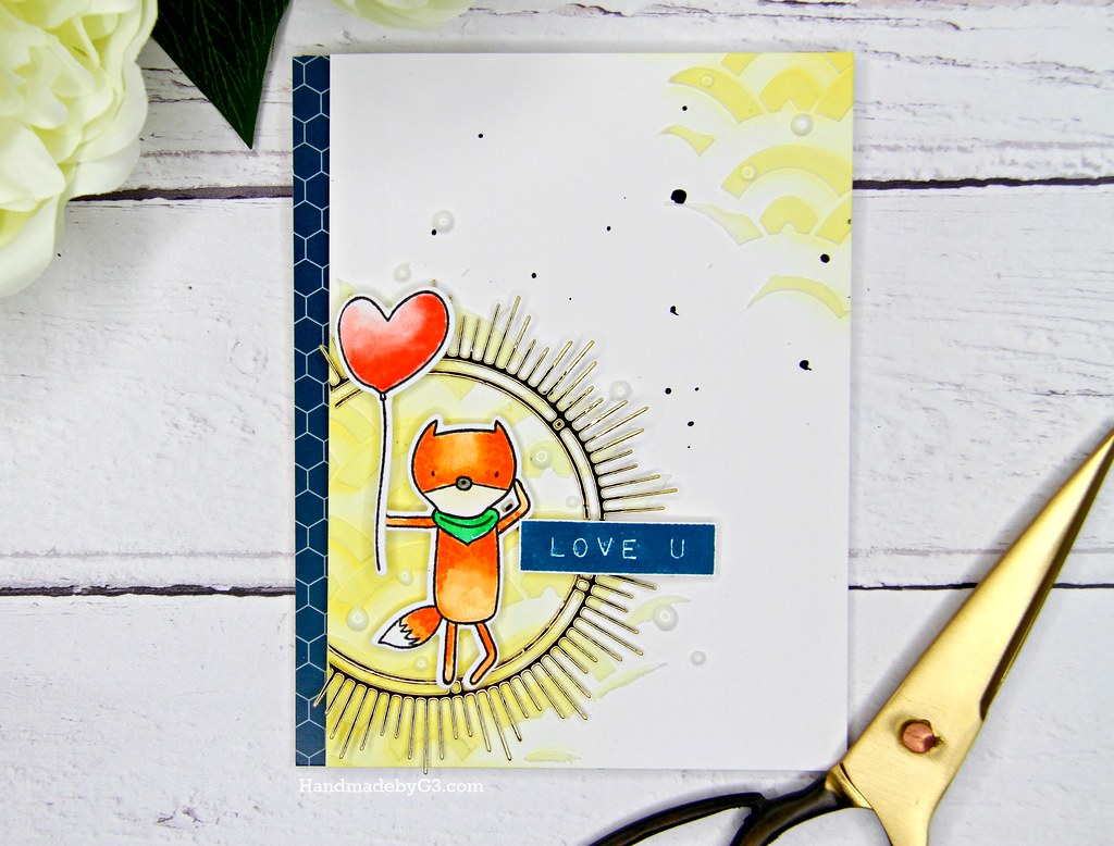 Altenew masculine card #2