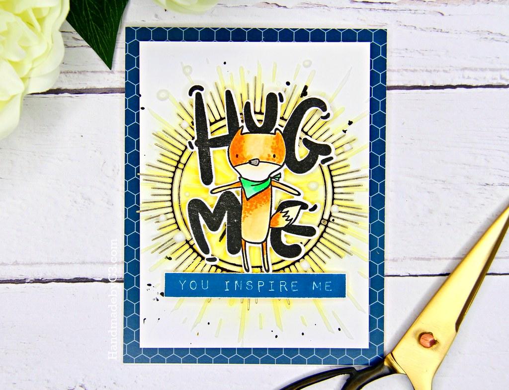 Altenew masculine card #1