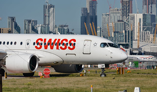 Swiss International Airbus A220 HB-JBF
