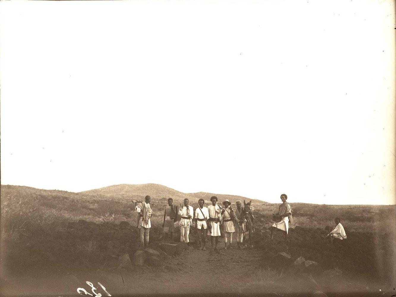 127. В сомалийской пустыне. Между Гурума и Биаде