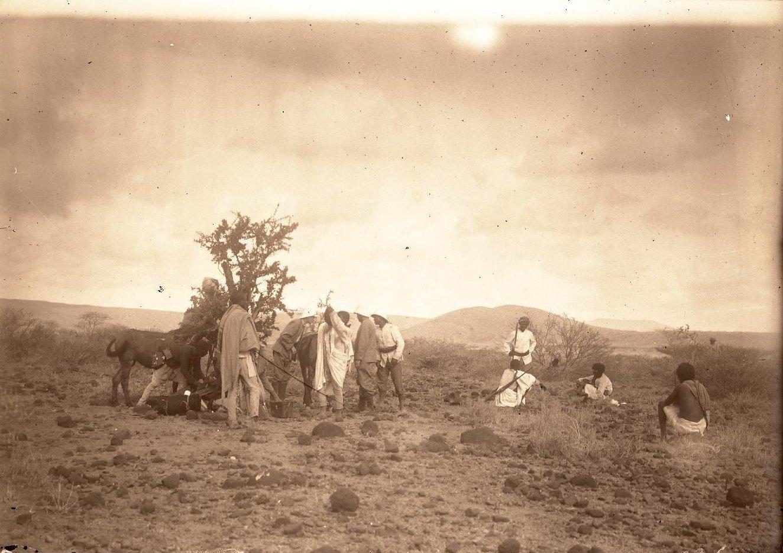 126. В сомалийской пустыне. Гурума (часть каравана)