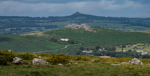 Pew Tor with Brentor in the background