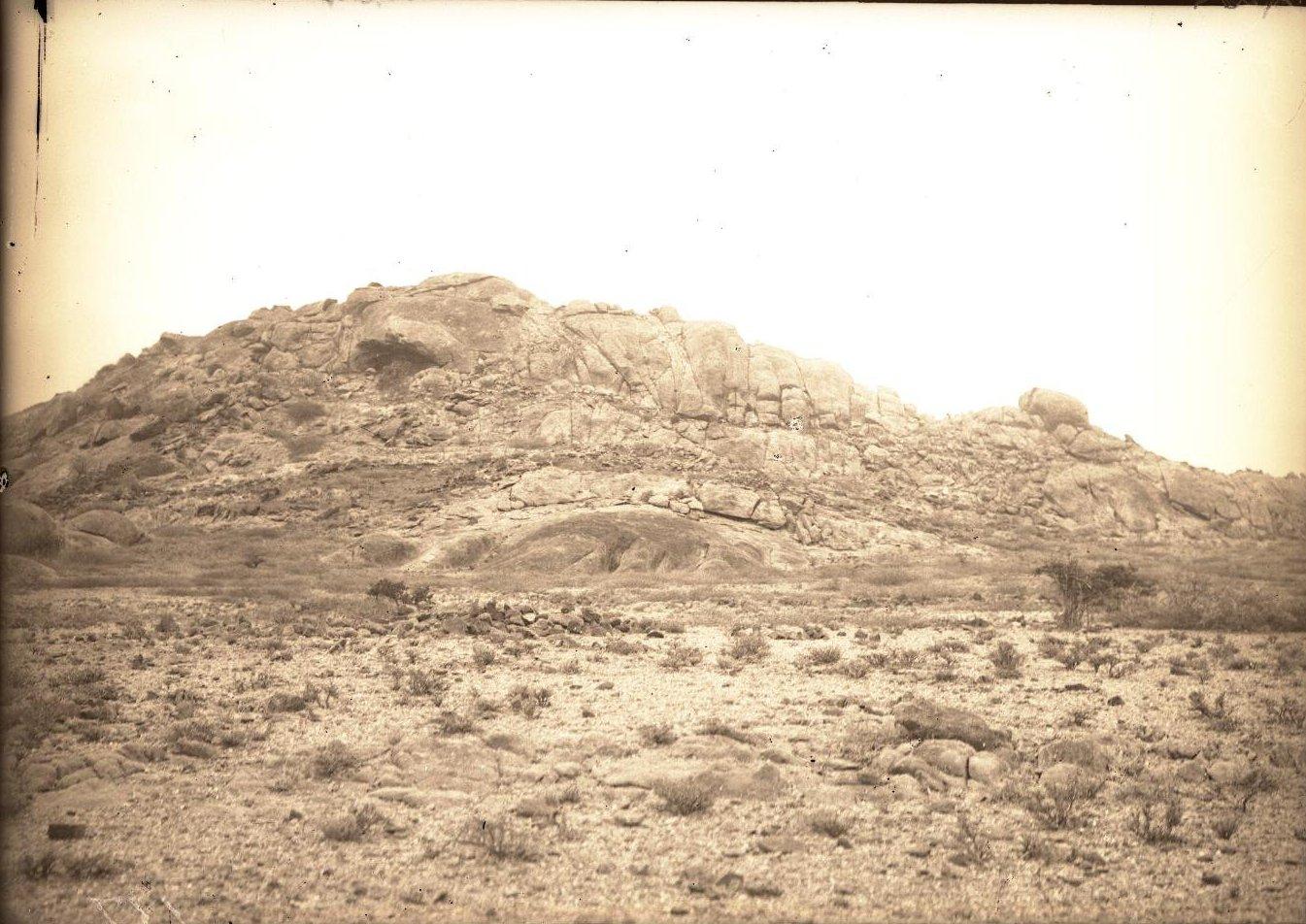 137. В сомалийской пустыне. Близ Алиаде