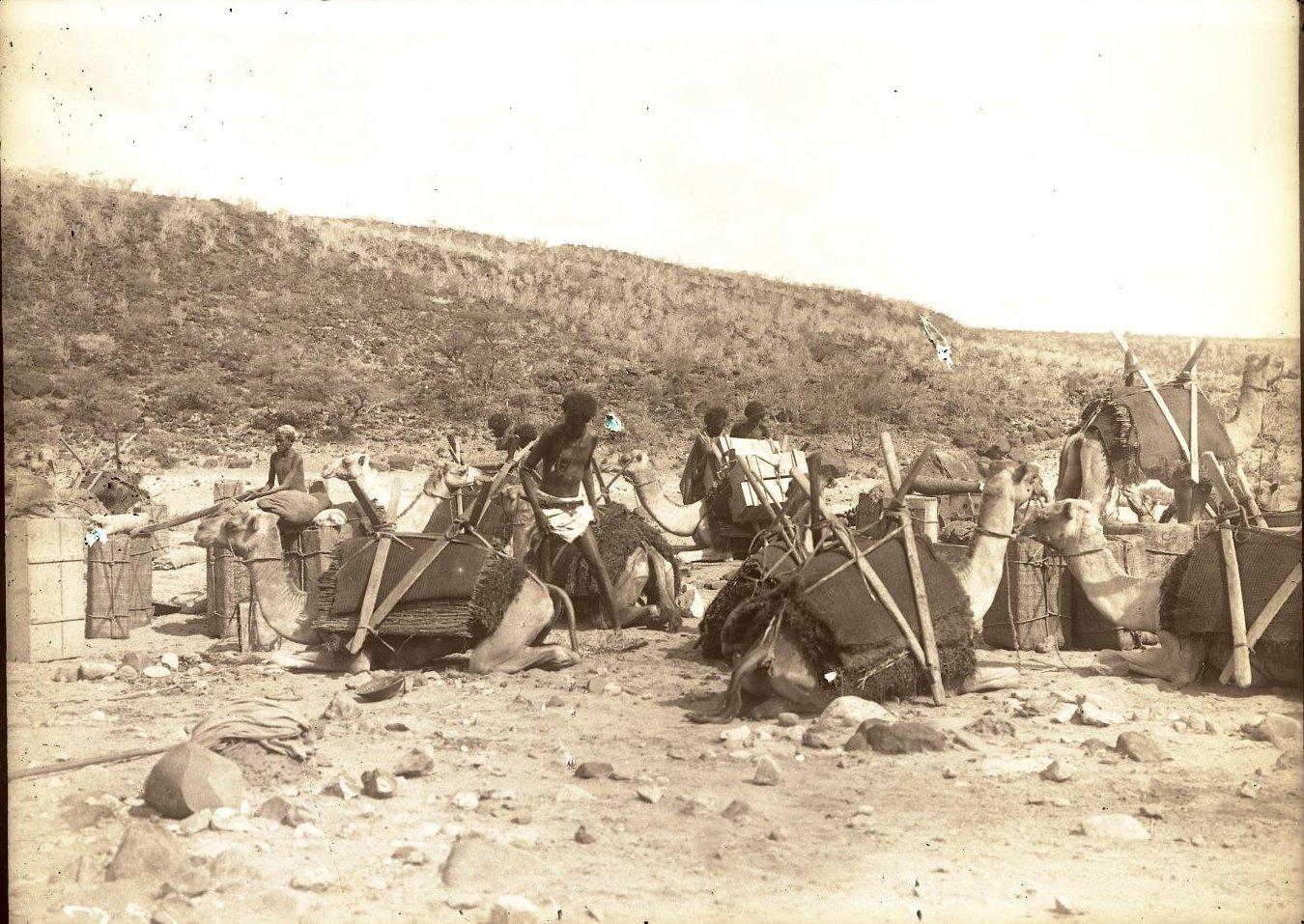 125. В сомалийской пустыне. Загрузка в Гурума