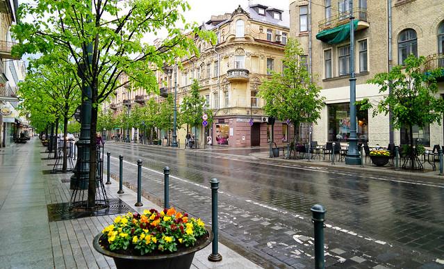 Wet in Vilnius